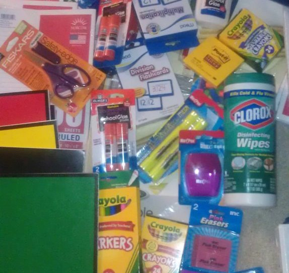 Back To School Supplies 2012